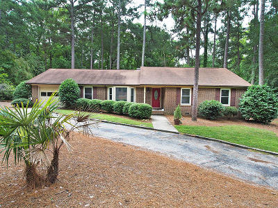 Southern Pines Single Family Home Active/Contingent: 485 S Bethesda Road