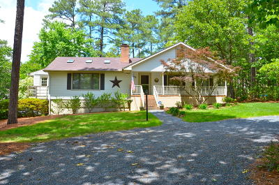 Pinehurst NC Single Family Home For Sale: $179,000