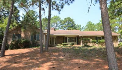 Southern Pines Single Family Home Active/Contingent: 295 Fieldcrest Road