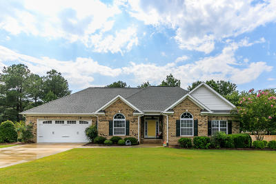 Whispering Pines Single Family Home For Sale: 8 Morning Glory Lane