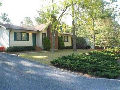 Moore County Rental For Rent: 75 E Sawmill Road