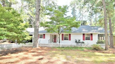 Southern Pines Single Family Home Active/Contingent: 165 Duffers Lane