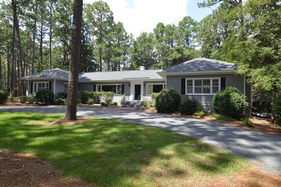Pinehurst Single Family Home For Sale: 20 W Barrett Road