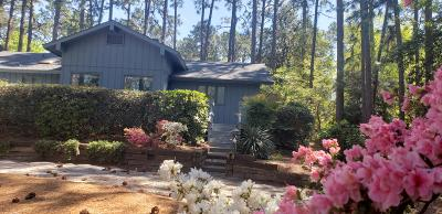Southern Pines Single Family Home For Sale: 1241 N Fort Bragg Road