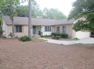 Pinehurst Single Family Home Active/Contingent: 160 St. Andrews Drive