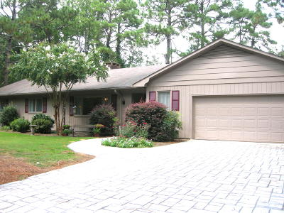 Whispering Pines NC Single Family Home For Sale: $350,000
