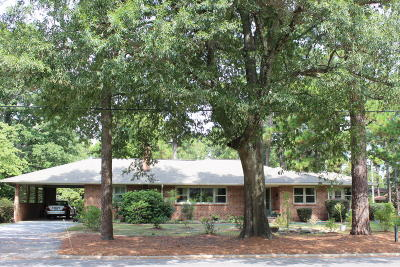 Southern Pines Single Family Home For Sale: 590 N May Street