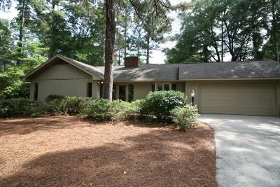 Pinehurst Single Family Home Active/Contingent: 130 Lake Forest Drive