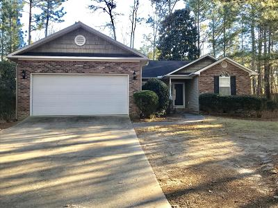 Pinehurst Single Family Home For Sale: 2195 W Longleaf Drive