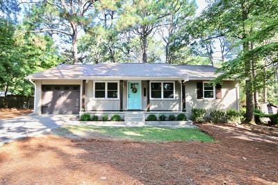 Southern Pines Single Family Home For Sale: 520 N Hale Street