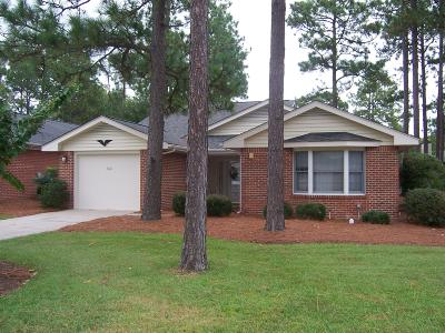 Pinehurst Single Family Home For Sale: 460 Pinehurst Trace Drive
