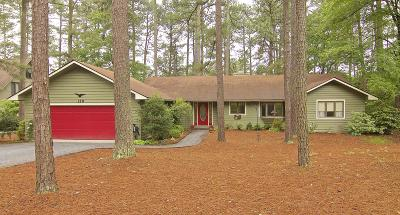 Southern Pines Single Family Home Active/Contingent: 130 Drumar Court
