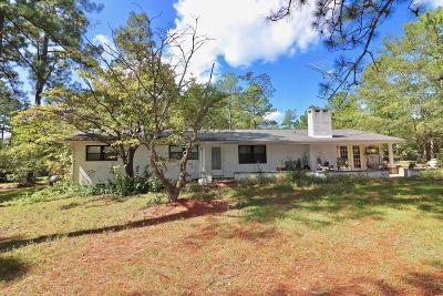 Southern Pines Single Family Home Active/Contingent: 610 Saunders Blvd Boulevard