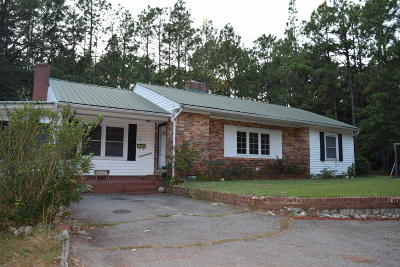Southern Pines Single Family Home Active/Contingent: 240 Midland Road
