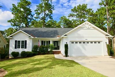 Pinehurst Single Family Home For Sale: 2120 W Longleaf Drive Drive