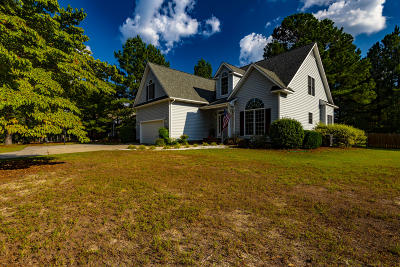Pinehurst Single Family Home For Sale: 80 Statler Lane