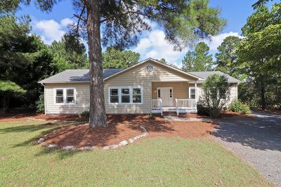 Pinehurst Single Family Home For Sale: 75 Statler Lane