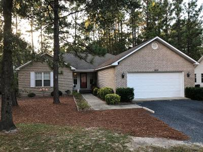 Pinehurst NC Single Family Home For Sale: $192,500