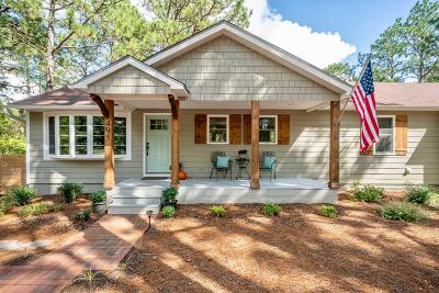 Southern Pines Single Family Home Active/Contingent: 495 Central Drive