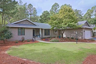 Pinehurst Single Family Home Active/Contingent: 7 Sugar Gum Lane Lane