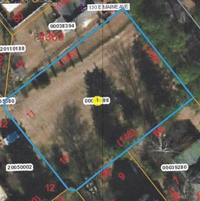 Southern Pines Residential Lots & Land Active/Contingent: E Maine Avenue