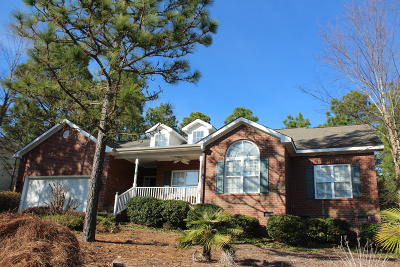 Moore County Single Family Home Active/Contingent: 11 Deerwood Lane