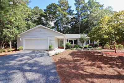 Pinehurst NC Single Family Home Active/Contingent: $220,000