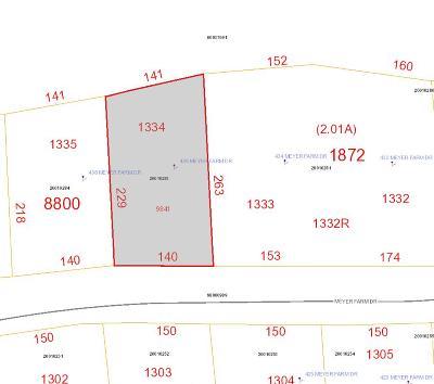 Pinehurst Residential Lots & Land For Sale: 436 Meyer Farm Drive