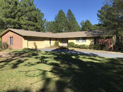 Jackson Springs Single Family Home Active/Contingent: 211 Hartsell Lane