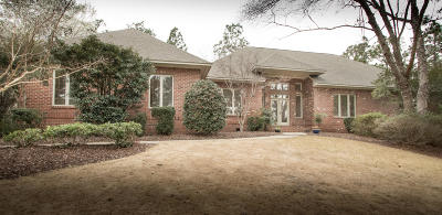 Pinehurst Single Family Home Active/Contingent: 110 Muirfield Place