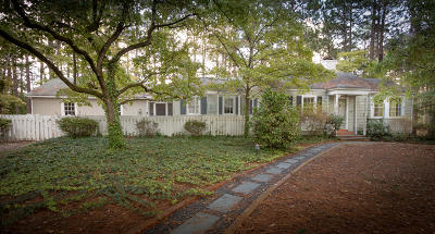 Southern Pines Single Family Home Active/Contingent: 145 Indian Trail