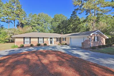 Pinehurst Single Family Home For Sale: 115 Pine Meadows Rd Road