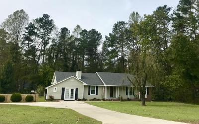 Fayetteville Single Family Home Active/Contingent: 7101 Young Drive