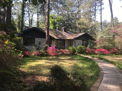 Southern Pines Single Family Home For Sale: 2140 Midland Road