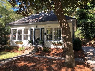 Southern Pines Single Family Home Active/Contingent: 430 S Ridge Street