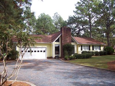 Whispering Pines Single Family Home For Sale: 2 Bogie Drive