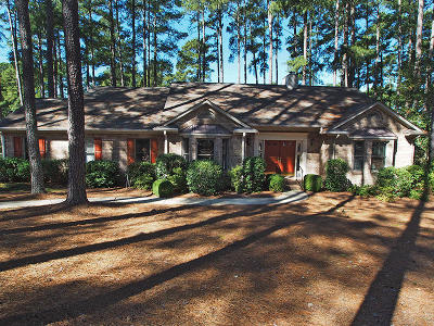 Pinehurst Single Family Home Active/Contingent: 51 Pinewild Drive