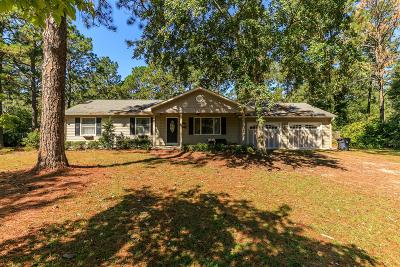 Southern Pines NC Single Family Home For Sale: $225,000