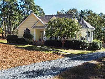 Moore County Single Family Home Active/Contingent: 128 Owens Circle
