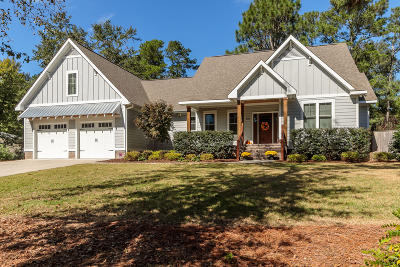Southern Pines Single Family Home For Sale: 200 Country Club Circle