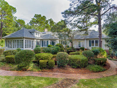 Southern Pines Single Family Home Active/Contingent: 660 E Massachusetts Avenue