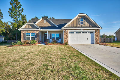 Moore County Single Family Home Active/Contingent: 237 Brightleaf Drive
