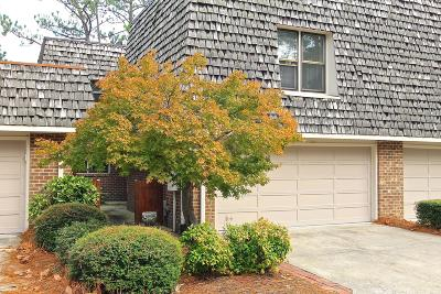 Pinehurst Condo/Townhouse Active/Contingent: 131 Racquet Lane
