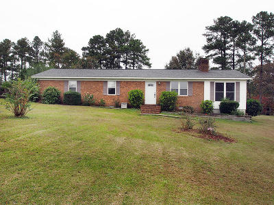 Seven Lakes, West End Single Family Home For Sale: 304 Nc Hwy 73