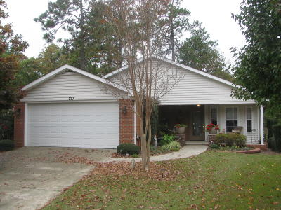 Pinehurst NC Single Family Home For Sale: $225,000