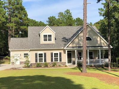 Moore County Single Family Home Active/Contingent: 102 Parker Court