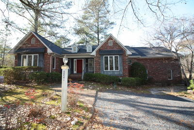 Moore County Single Family Home Active/Contingent: 126 Berkshire Court
