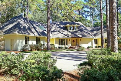 Pinehurst, Southern Pines Single Family Home For Sale: 60 Apawamis Circle