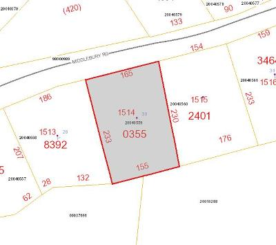 Residential Lots & Land For Sale: 30 Middlebury Road