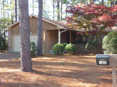Southern Pines NC Condo/Townhouse For Sale: $189,000